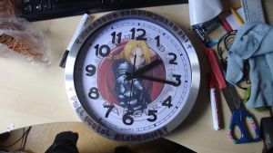 My new clockyy by MetalFan200