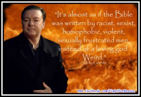 Ricky Gervais by AAtheist