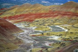 Painted Hills Fossil Dig 3 by Singing-Wolf-12