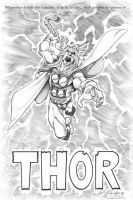 And now... The Mighty Thor by AllanOtero