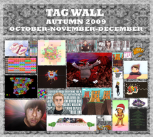 Tag Wall 2009 Automn DRLM by DRLM
