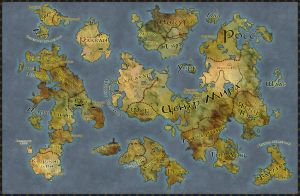 Political world map Ignis by Senso0scuro