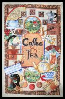 Coffee and Tea Sampler by KezzaLN