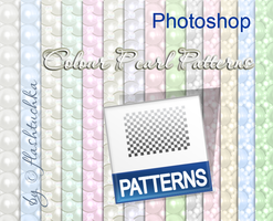 Seamless Pearl Patterns by flashtuchka