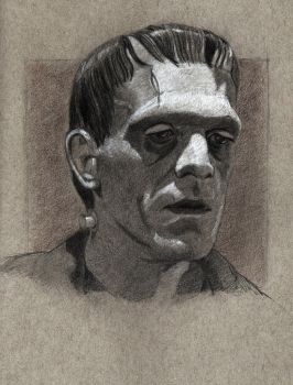 Frankenstein's Monster 1 of 4 Finished November 9 by SeaQuenchal