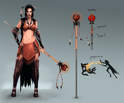 Witch concept by Lodias