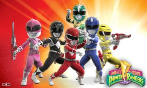 MMPR 20th Anniversary Avatars by disruptivepublishers