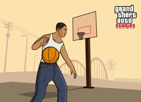 GTA Stories CJ Basketball by and0n