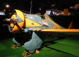 Boeing P-26A Peashooter Squadron Commander by rlkitterman