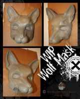 Wolf Mask WIP by nondecaf
