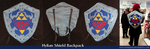 Hylian Shield backpack by tavington