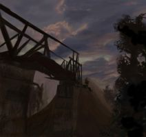 Stalker Cordon Bridge study by xensoldier