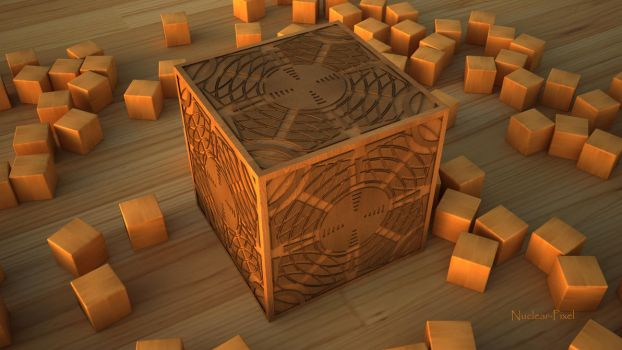 Cube complexe by Nuclear-Pixel