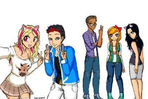 Fantage Youtubers Redraw with Color by So-Tay