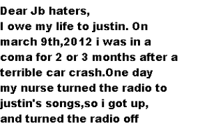To jb haters by Artfan1389