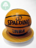 Basketball (Cake) by Sliceofcake