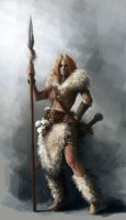 Female Barbarian by vladgheneli