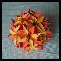 Kusudama 13 by lonely--soldier