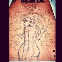 BLINTH BLANK COVER WIP HADES AND THE MORNING STAR by U-D0NT-KN0W-ME