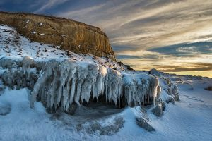 Gold Ice by MarshallLipp