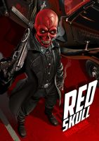 RED SKULL by OnlyMilo