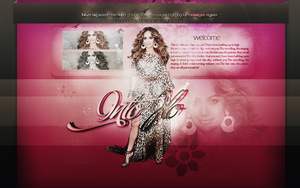 Into JLo Layout by ElasticLoveDesign
