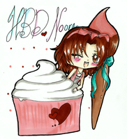 HBD Noora ~ by everblue4219