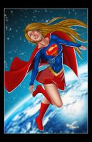 Super Girl Color by JavierCruzArt