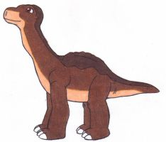 Littlefoot by MistyKoopa