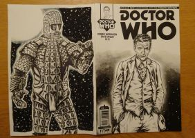 Twelfth Doctor Front and Back by PAULSWAIN
