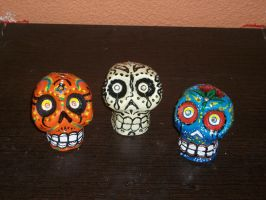 calaveras chicanas by elbearone