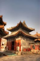 Wanshou Temple Beijing China by davidmcb