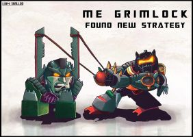 Me Grimlock Need New Strategy by LiamShalloo