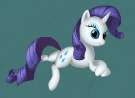 Rarity Drawing Practice by Grennadder