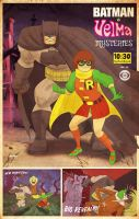 batman and velma by m7781
