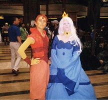Ice Queen and Flame Prince- Akon 24 by Mdragonflame