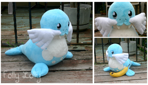 Comm- Sealeo Plush by FollyLolly