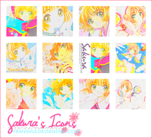 Sakura's Icons by Franshui