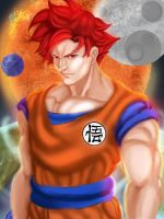 Super Saiyan God... by Korevo
