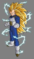 Vegeta SSJ3 In Armor by hsvhrt