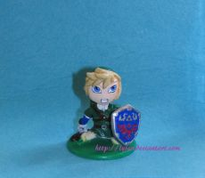 The legend of Zelda - Link chibi by lysen