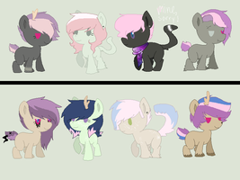 Breeds 1 :Lilybelle101: CLOSED by Rainbow-ninja-adopts