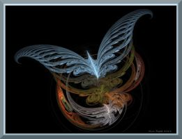 Blue Butterfly by beautifulchaos1