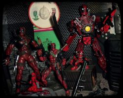 Deadpool Force 2000 by PsychosisEvermore