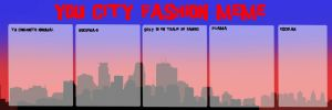 You City Fashion Meme (para hombres y mujeres) by MikuDraws