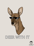 Deer with It- Design Available on S6 by IceIsland
