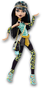 Monster High Doll Clipart: OW2 Cleo de Nile by MHProGal