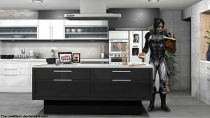 Mass Effect - Kai's Kitchen by JoesHouseOfArt