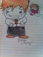 George Weasley chibi by Quills-n-Parchment