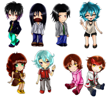 FD: Chibis by kittyshadow